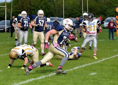 James Walter breaks the 1,000 rushing yard milestone - gareth brown