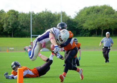 BY JAMIE STANCOMBE - James Walter dives over the line for a touchdown