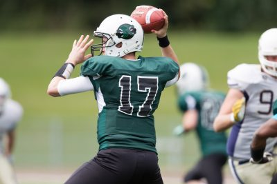 Raptors QB - Photo by Gareth Brown